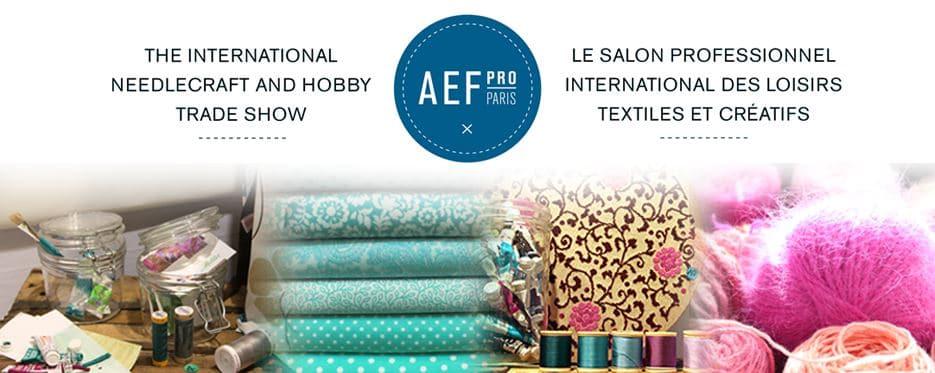 Salon aef pro paris zumeline for Salon loisirs creatifs paris