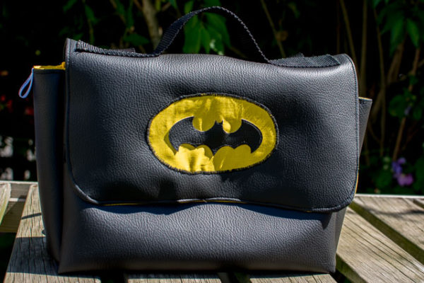 Le cartable maternelle version Batman