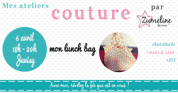 atelier couture zumeline juvisy essonne luch bag