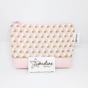 pochete_zipee-femme-fait_main-juvisy-essonne-rose-simili_cuir-dore-zumeline