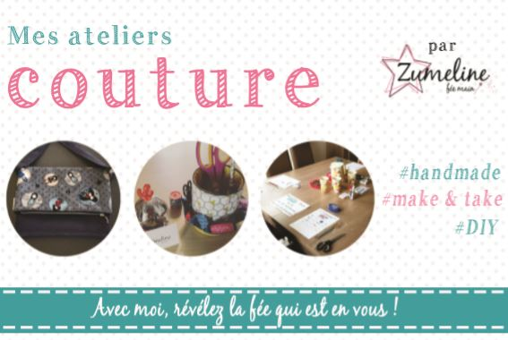 flyer recto atelier couture zumeline juvisy essonne cours couture
