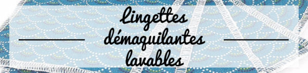 lingettes démaquillantes lavables zumeline
