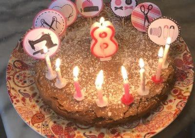 Gâteau décoré et personnalisé