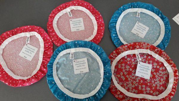 Couvercles réutilisables zumeline zéro déchet cuisine taille XL