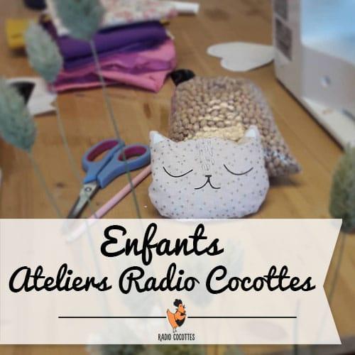 ateliers couture enfants radio cocottes