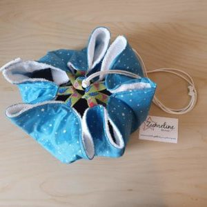 tapis piscine pieds au sec zumeline fait main essonne bleu etoiles juvisy