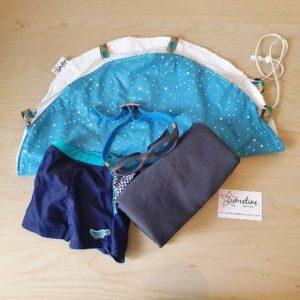 tapis piscine pieds au sec zumeline fait main juvisy essonne bleu etoiles
