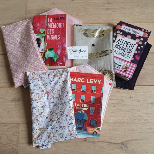 anaïsW zumeline pochettes livres broches