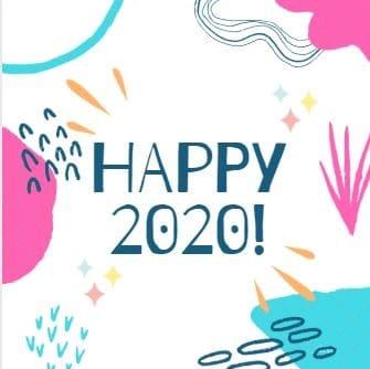 Image bonne année 2020 zumeline