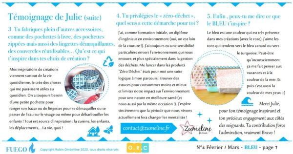fuego emagazine ombelline robin conseil zumeline