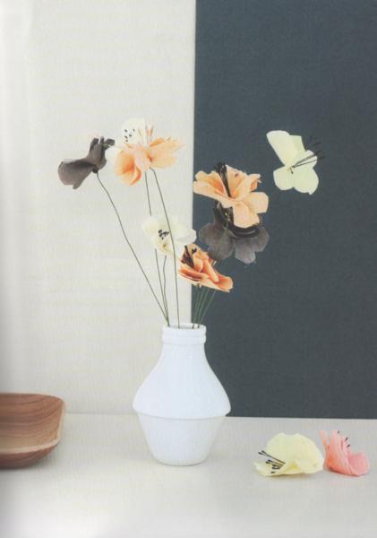 activites confinement bouquet fleurs tissu couture zumeline fait main