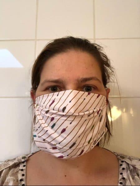 masque plis afnor fait main zumeline