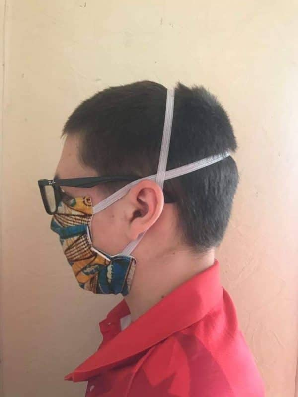 masque barrière plis afnor élastique tête zumeline