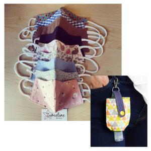 atelier couture adultes zumeline juvisy masque pochette gel hydroalcoolique